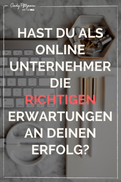 Erfolg in Business
