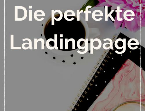 Die perfekte Landingpage für Leadgeneration.