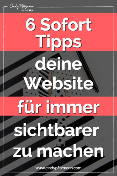 website-sichtbarer