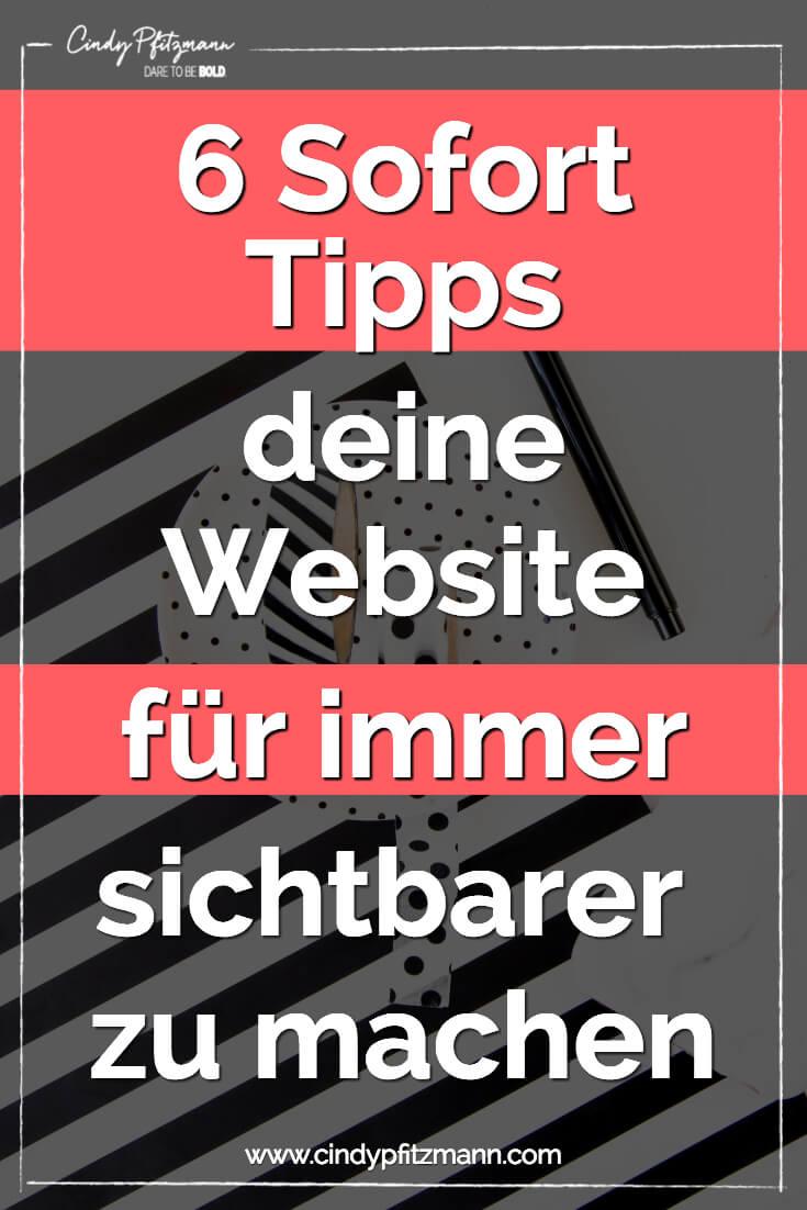 website-sichtbarer