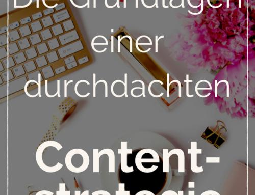 So baust du dir eine strategische Contentstrategie für deinen Blog auf