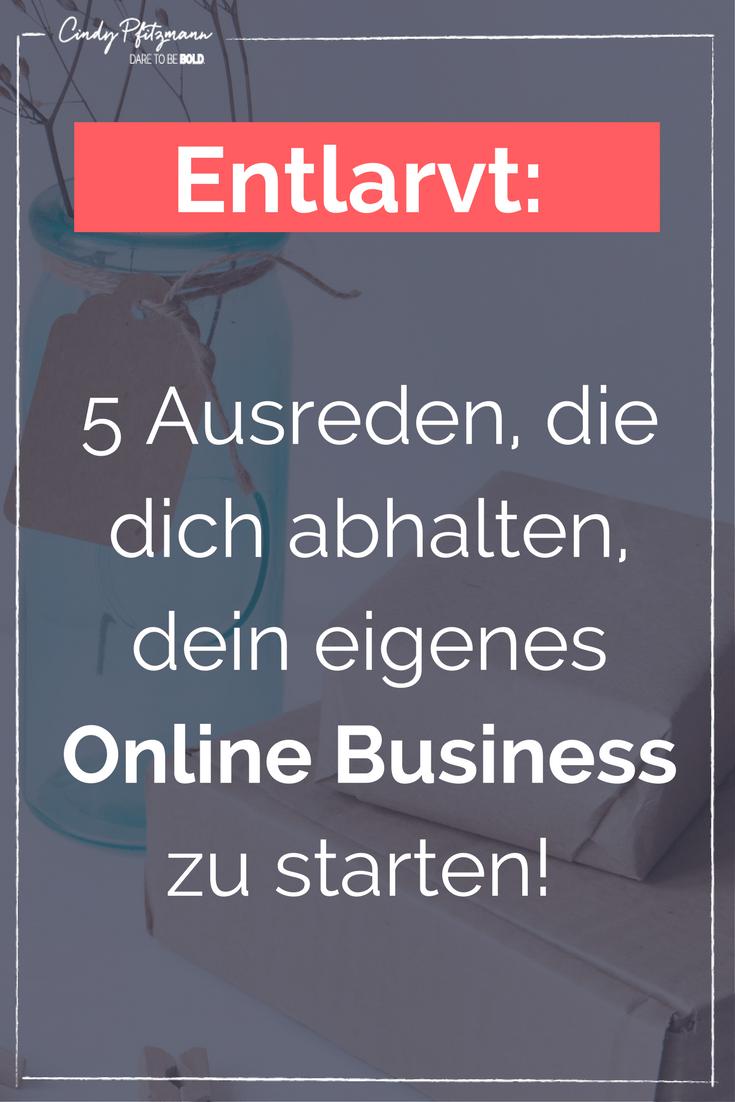 online business ausreden