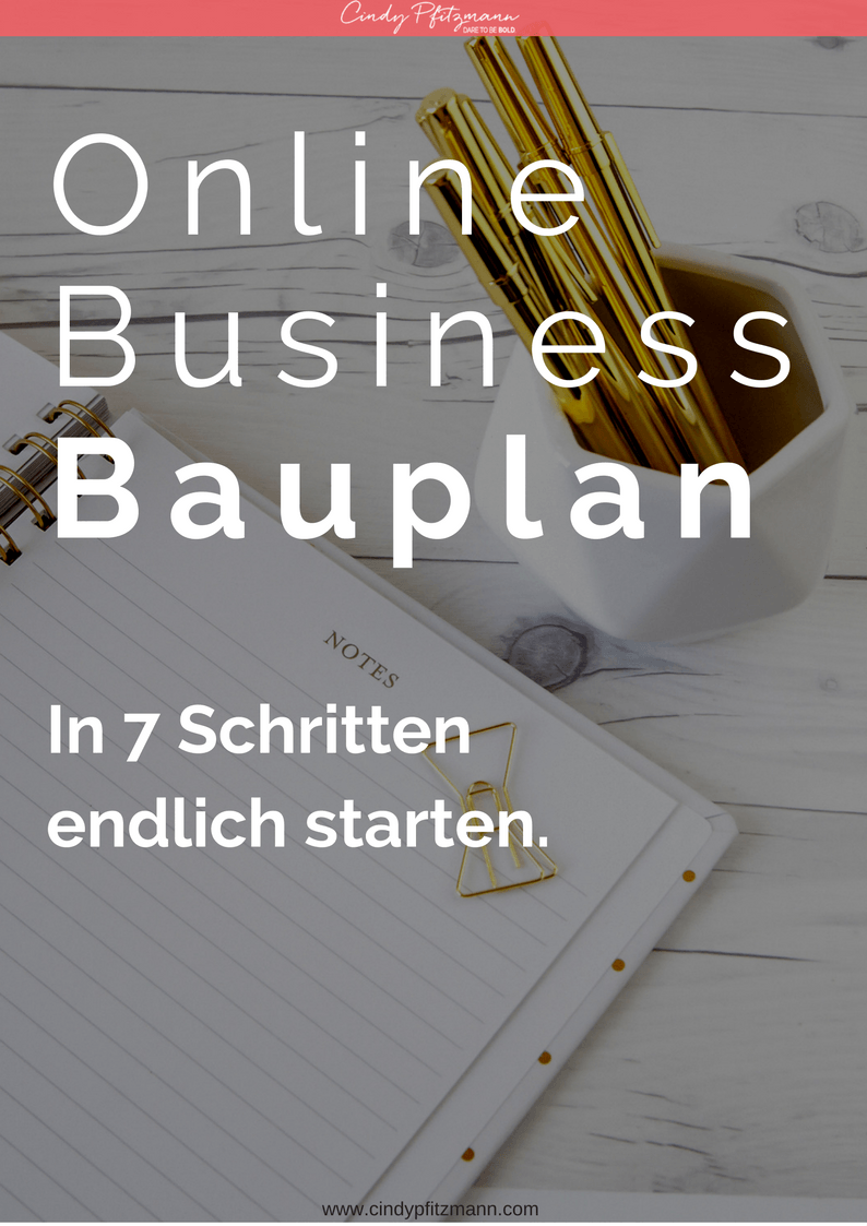 Online Business Bauplan