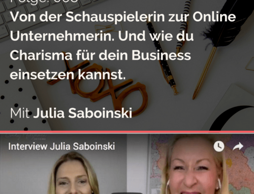 """How To Become An Entrepreneur"" – Julia Sobainsky"