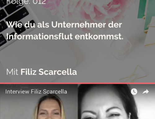 """How To Become An Entrepreneur"" – Filiz Scarcella"