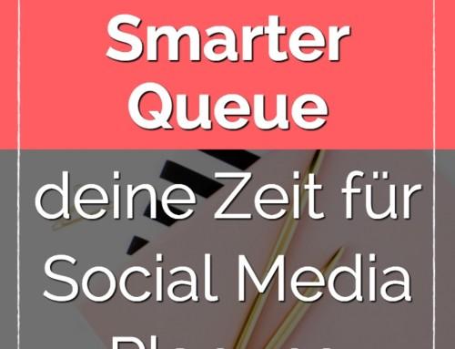 Halbiere deine Zeit für Social Media Planung mit Smarter Queue