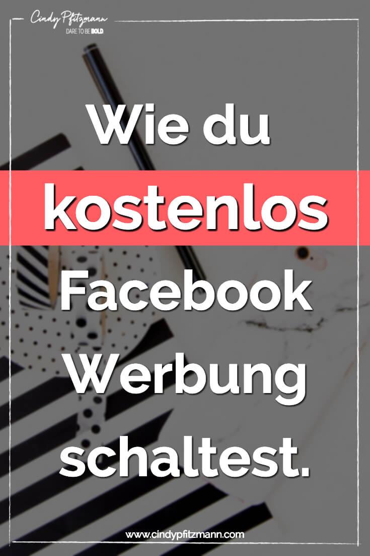 facebook-werbung-kostenlos