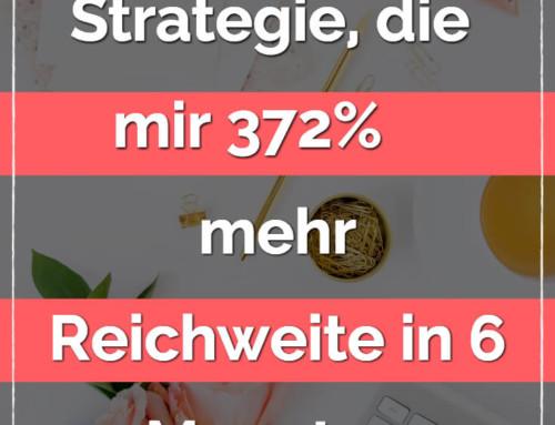 Die Pinterest Strategie, die mir 372% mehr Reichweite in 6 Monaten brachte