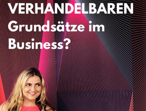 Was sind deine nicht-verhandelbaren Grundsätze im Business (und Leben)?