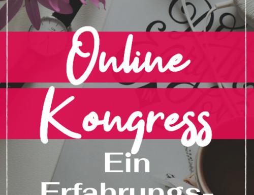 Online Kongresse – Ein Erfahrungsbericht